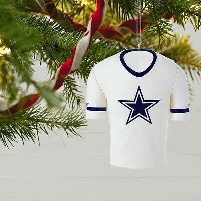 Dallas Cowboys Jersey Ornament NFL Christmas Tree Item Collectible New