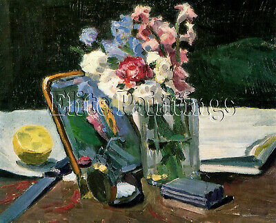 Flowers Artist Painting Reproduction Handmade Oil Canvas Repro Art Deco Repro
