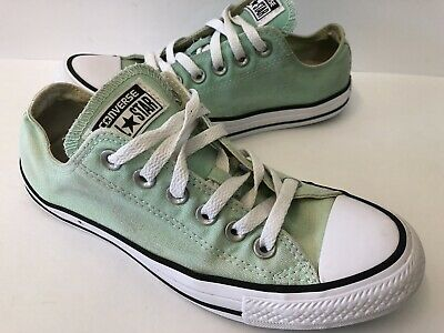 Converse All*Star Classic Canvas Low Top Lace Up Shoes Womens 7