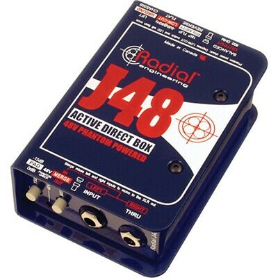 Radial Engineering J48  Single Channel Active Direct Box