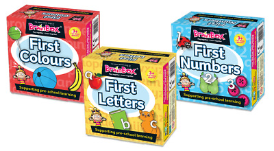 Brainbox My First Colours, Letters + Numbers - Children's Activities