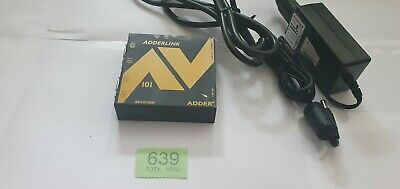 Adderlink AV receiver (ALAV101R) with power cable
