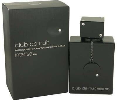 Club De Nuit Intense Man By Armaf 3.6oz/105ml Edt Spray For Men New In Box