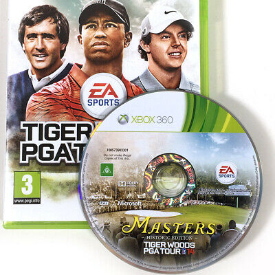 Masters Historic Edition Tiger Woods PGA Tour 14 Xbox 360 Standard 14 Cover AU