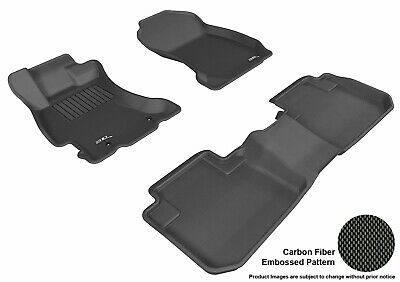 Gray Kagu Rubber 3D MAXpider Second Row Custom Fit All-Weather Floor Mat for Select Chevrolet Equinox Models