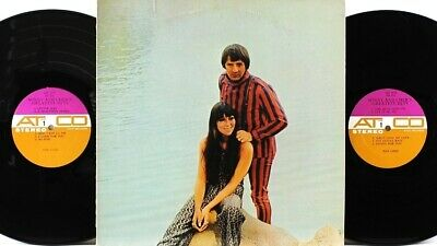 Sonny and Cher's Greatest Hits A2S 5178 ATCO Stereo 1967 2LP Club Edition VG+