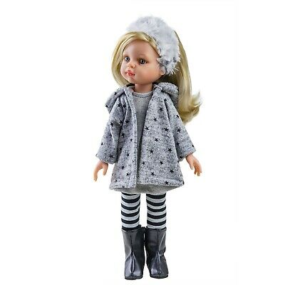 Paola Reina Doll Claudia 32cm Vanilla Scented Gift Boxed New 04410