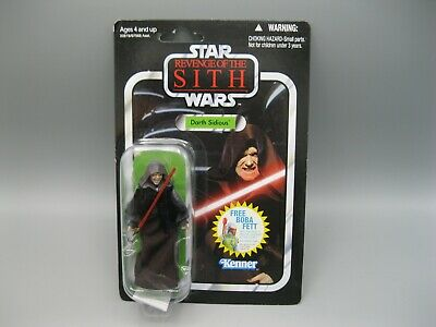 2010 Kenner Star Wars Revenge of The Sith Darth Sidious Action Figure VC12 NIB