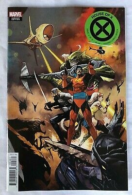 House of X #4 | Mike Huddleston 1:10 Incentive Variant Cover  | Near Mint+ 9.6