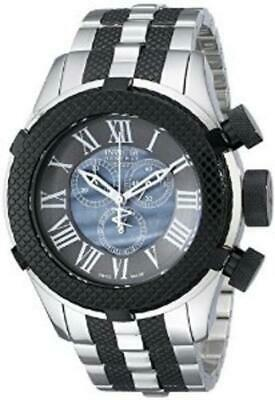 Invicta Bolt Classic Gen III Black Mother Of Pearl Dial SS Band Swiss Watch NEW