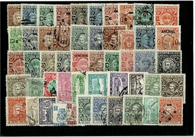 10799- Indian States, British India, British Colonies, collection of stamps. All