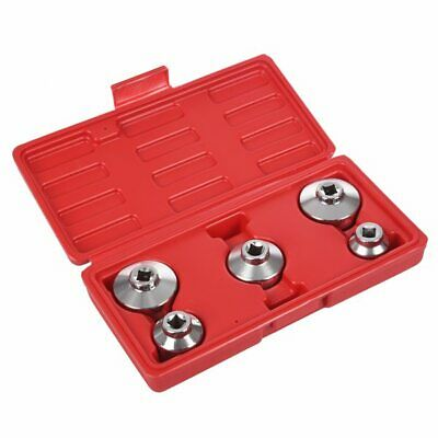 New Oil Filter Socket Set Cap Wrench Yit 5 Piece 24 27 32 36 38 Mm Uy4