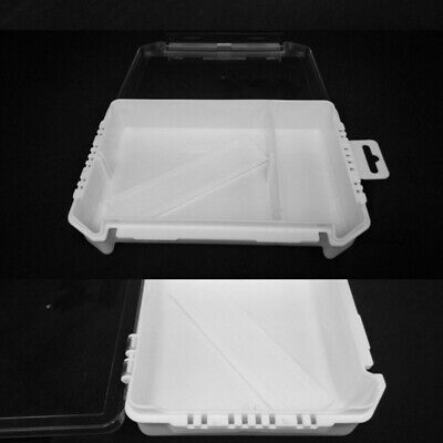 Clear Plastic Multi Purpose Storage Waterproof Container Boxes Tub Secur YQA