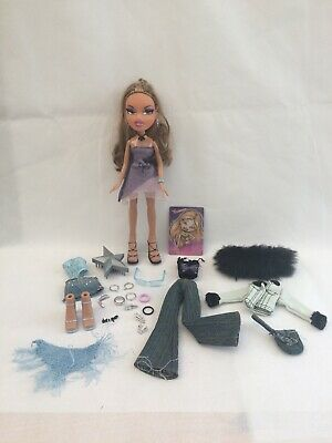 Bratz Girls Nite Out Yasmin Doll Rare Complete 3 Outfits Jewellery Shoes