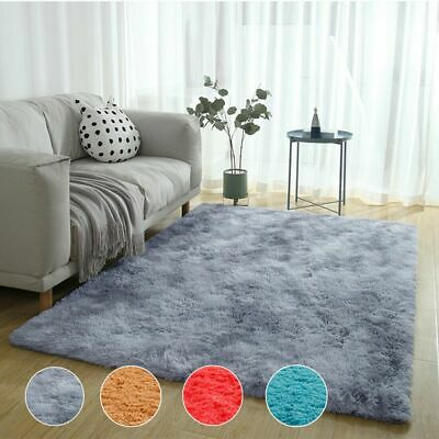 Soft Cosy Shaggy Rug Fluffy Living Room Area Carpets Bedroom 4.5cm Pile UK Stock