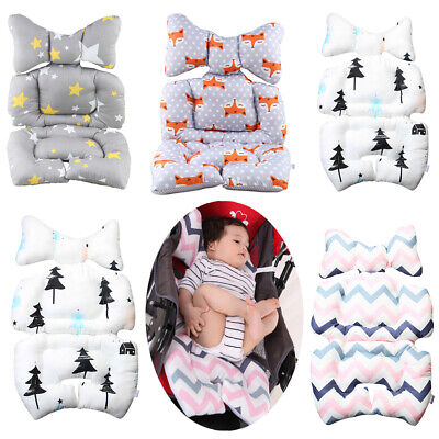 NE_ AM_ Newborn Baby Car Seat Stroller Liner Cushion Warm Mat Pushchair Cotton