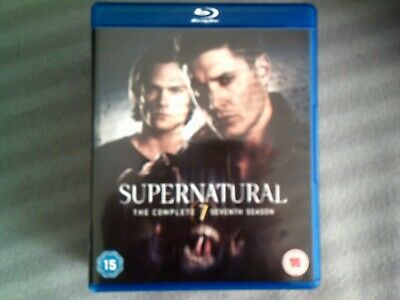 Supernatural The Complete Seventh Season*Series Seven (7)*Blu Ray*Tv*4 Disc*