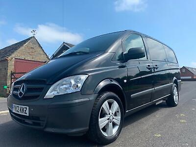 2012 MERCEDES BENZ VITO 2.1 113 CDI BlueEFFICENCY TRAVELINER COMPACT BUS AUTO