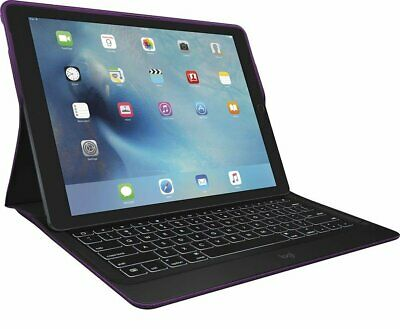 Logitech Create Backlit Keyboard Case w/ Smart Connector 12.9 iPad Pro PURPLE