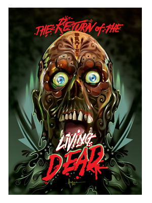 Art Return of the Living Dead Classic Horror Movie 24x36in Poster Hot Gift C2379