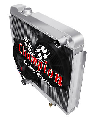 3 Row Western Champion Radiator for 1962 1963 Buick Special V8 Engine