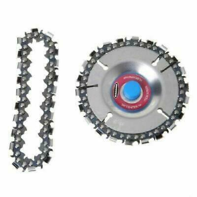"""4"""" Angle Grinder Disc Wheel Tooth Power Plate Chain Saw Wood Carving Woodworking"""