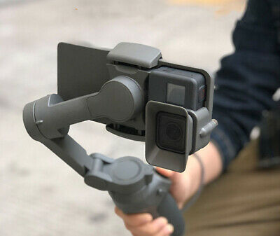 Professional Switch Mount Plate Adapter for DJI OSMO Mobile 3 Gimbal GoPro 5/6/7