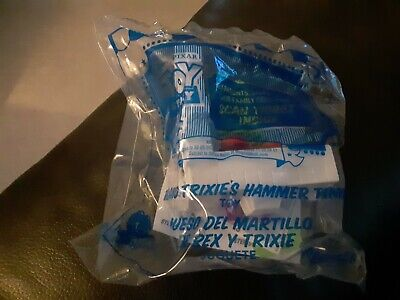 2019 McDonalds Happy Meal Toy Story 4 #9 Rex and Trixies Hammer Time New