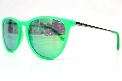 New Authentic Kid Ray Ban Jr Sunglasses Rj9060S 7007/3R Green Rj 9060S 50-15-125