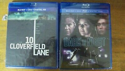 New Suspence Double Feature 2 Blu Ray Dvd 10 Cloverfield Lane Dark Was The Night
