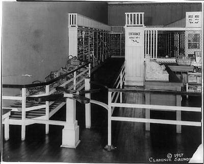 Photo:Piggly Wiggly,TN,1st self-service grocery store,US,1917 4597
