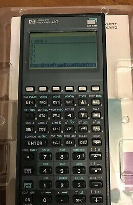HEWLETT PACKARD HP 48G Graphing Calculate and Soft Case