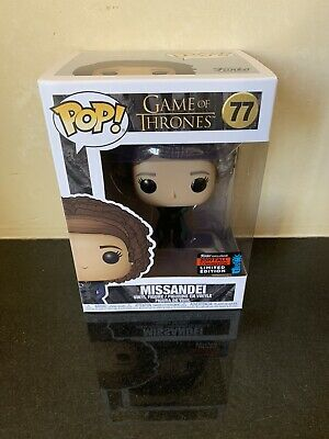 Funko Pop Missandei 2019 NYCC SHARED Exclusive GOT In Hand + Protector