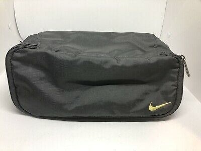 Nike Travel Bag Toiletry Shaving Kit Bag Gray Traveling Bag Pouch aa68