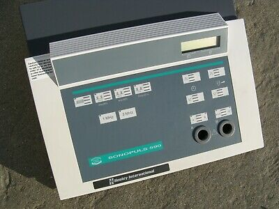 Healey Enraf Nonus Sonopuls 590 Ultrasound Therapy Unit With 3 Probes