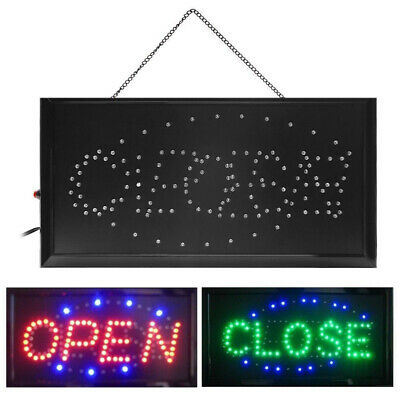 Animated Bright 2 in 1 Open&Closed LED Neon Light Shop Business Sign with ON/OFF