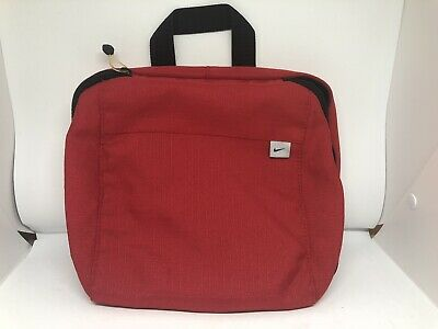 Nike Travel Bag Toiletry Red Shaving Bag Traveling Case aa69