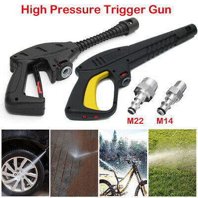 New High Pressure/Power Washer Spray Gun, M14/M22 Hose Fitting For VAX LAVOR BS