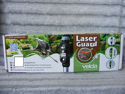 New Velda Laser Guard Fish Pond Heron Cat Predator Deterrent Scarer Protector