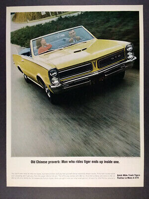 Picture 1968 Pontiac GTO Convertible Coupe Ref. #69443 Factory Photo