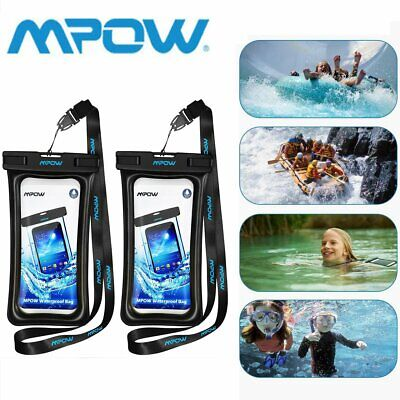 MPOW Floating Waterproof Phone Bag Underwater Pouch Dry Case Cover Universal AU
