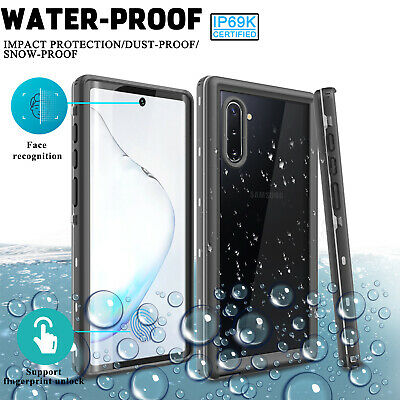 For Samsung Galaxy Note 10/10+/5G/Plus Case Waterproof Built-in Screen Protector