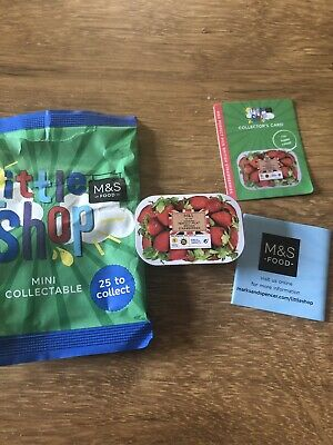 MS Marks & Spencer Little Shop Collectables Strawberries