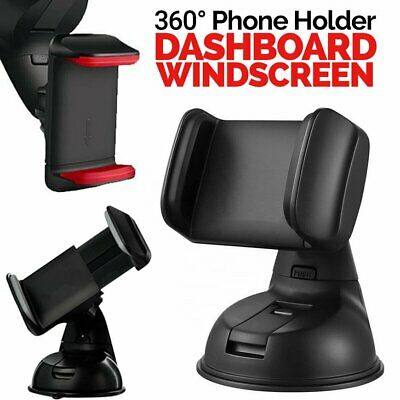360In Car Mobile Phone Holder Universal Mount Windscreen Dashboard Suction HomeT