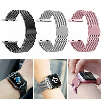 Milanese Loop Strap Watch Replacement Band Fit For Apple Watch Series 1/2/3/4/5
