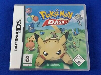 ds POKEMON DASH A Great Multi-Player Racing Game Lite DSi 3DS REGION FREE PAL UK