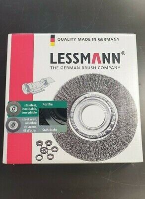 Lessman Steel Wire Brush D200 x 16 Bore