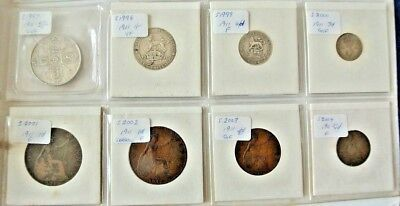 GB Coins – 1911 GEORGE V 8 Coin Year Set