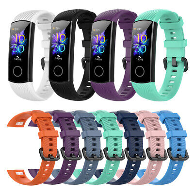 Replacement Bracelet Silicone for Huawei Honor Band 5 4 Wrist Strap Watch Band