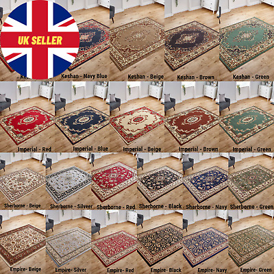 Small X Large Imperial Quality Classic Traditional Area Rugs Runners Low Cost